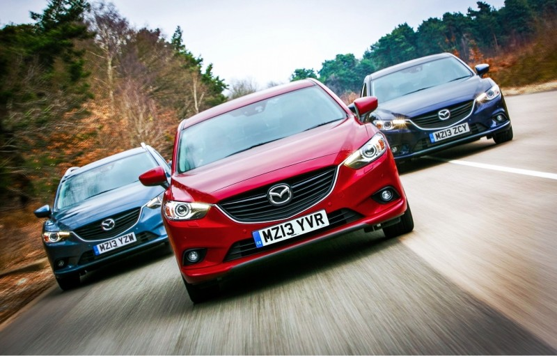 Mazda takes low-emission SKYACTIV cars to fleet show