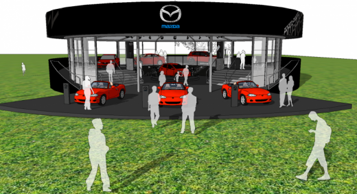 Trade Stands Goodwood Festival Speed : Mazda at the goodwood festival of speed stands to deliver