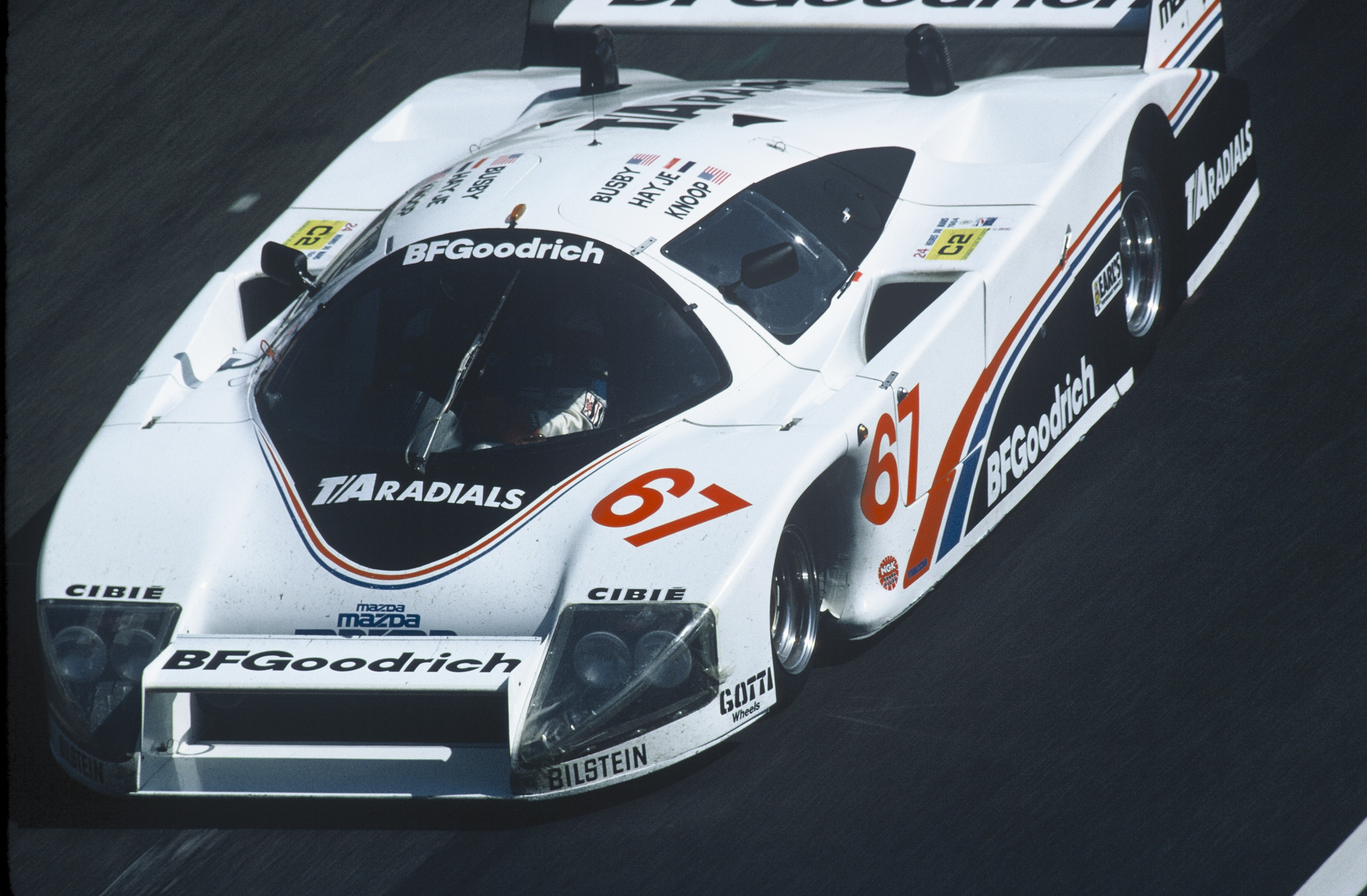 1984 Le Mans  Group C2 victory for the BFGoodrich Lola ...