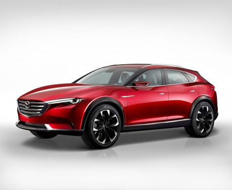 Kevin Rice, design director for Mazda Europe, discusses the Mazda Koeru concept car