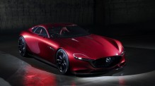 Mazda RX-Vision concept for a rotary-powered sports car. Interview with Kiyoshi Fujiwara, head of Mazda research and development