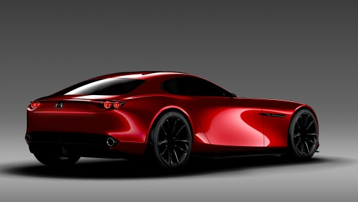 Mazda RX-Vision concept for a rotary-powered sports car. Interview with Ikuo Maeda, head of Mazda design