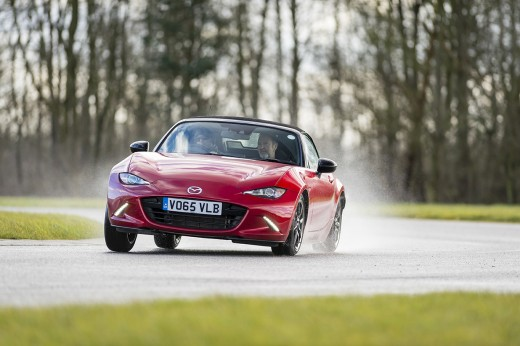 A masterclass in advanced driving with Mark Hales and the 2016 all-new Mazda MX-5