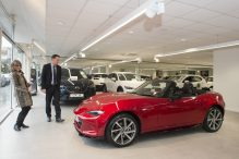 Special delivery: how Mazda supplies British drivers with new cars