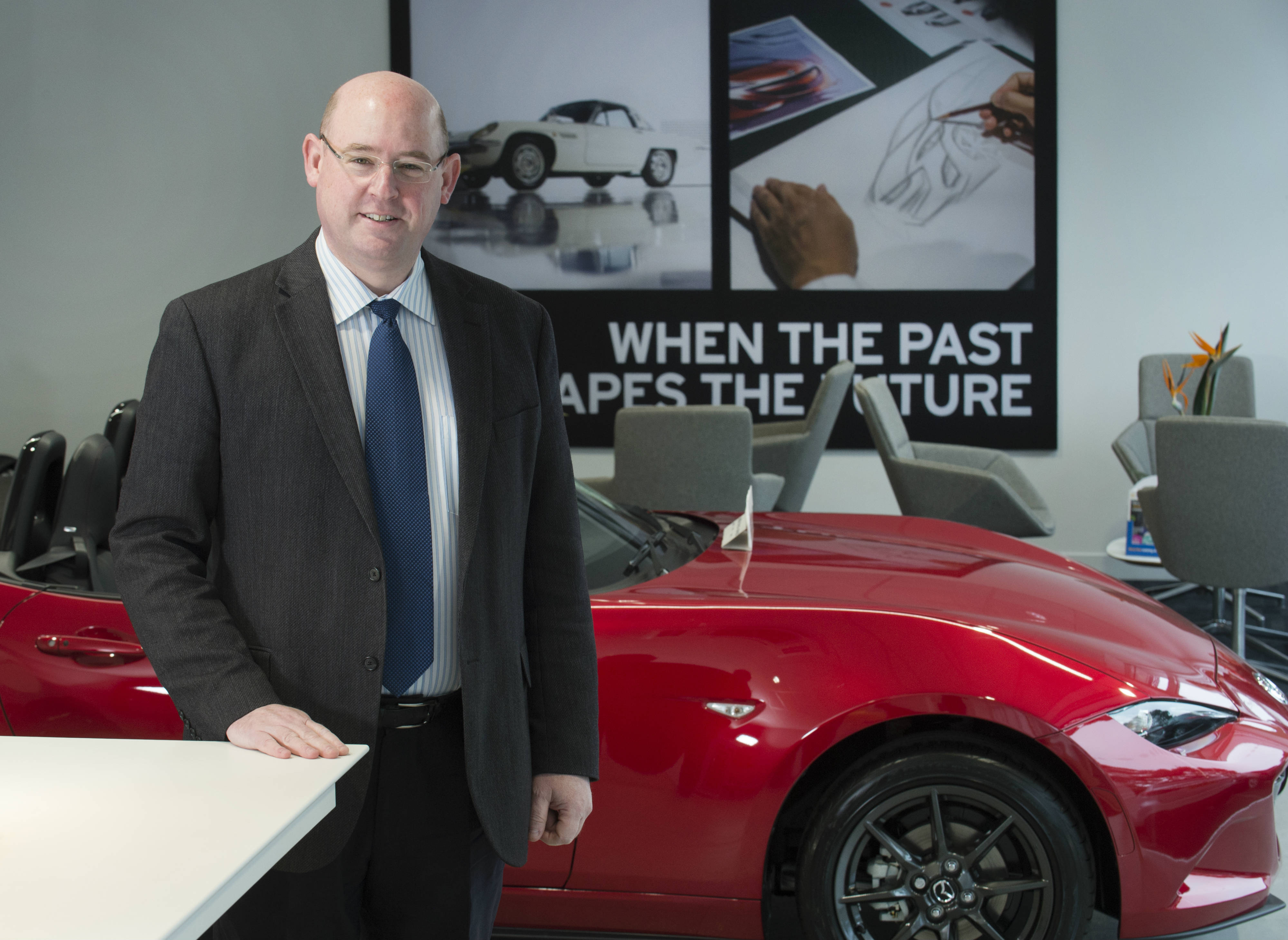 A day in the life of Barney Steele, dealer principal of Magna Mazda in Poole, Dorset