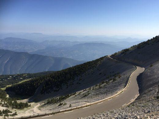 18. Road leading to Malaucene