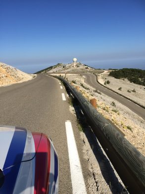 20. Near Summit looking East on the Malaucene road