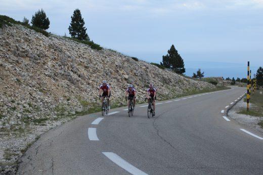 5. First ascent inbetween Chalet Reynard and Summit, Duncan, David (me) and Emma