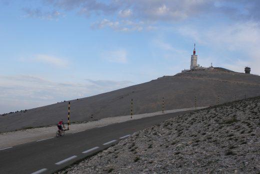 8. Climbing Bedoin & Sault side above Chalet Reynard