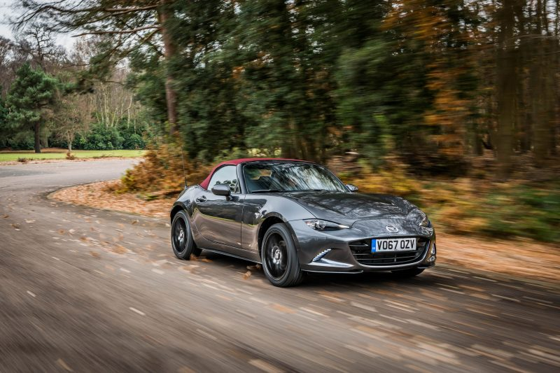 new limited edition mazda mx 5 z sport on sale from 1st march 2018 inside mazda. Black Bedroom Furniture Sets. Home Design Ideas