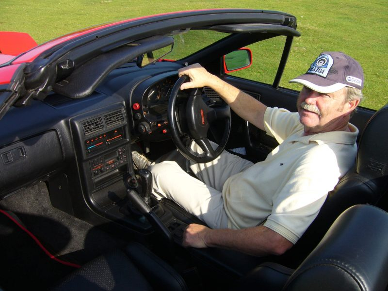 Peter Symons on why he drives a Mazda RX-7 sports car