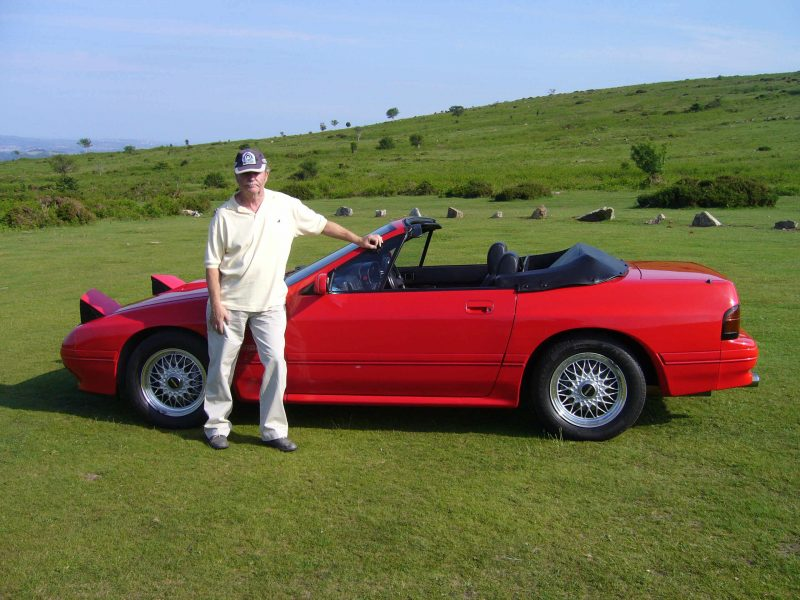 Peter Symons reveals why he owns two Mazda RX7s including this rare FC convertible
