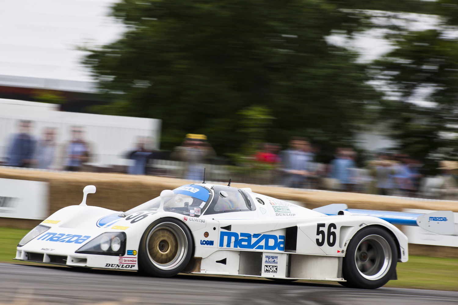 Goodwood Festival of Speed race cars on the hill   Inside Mazda