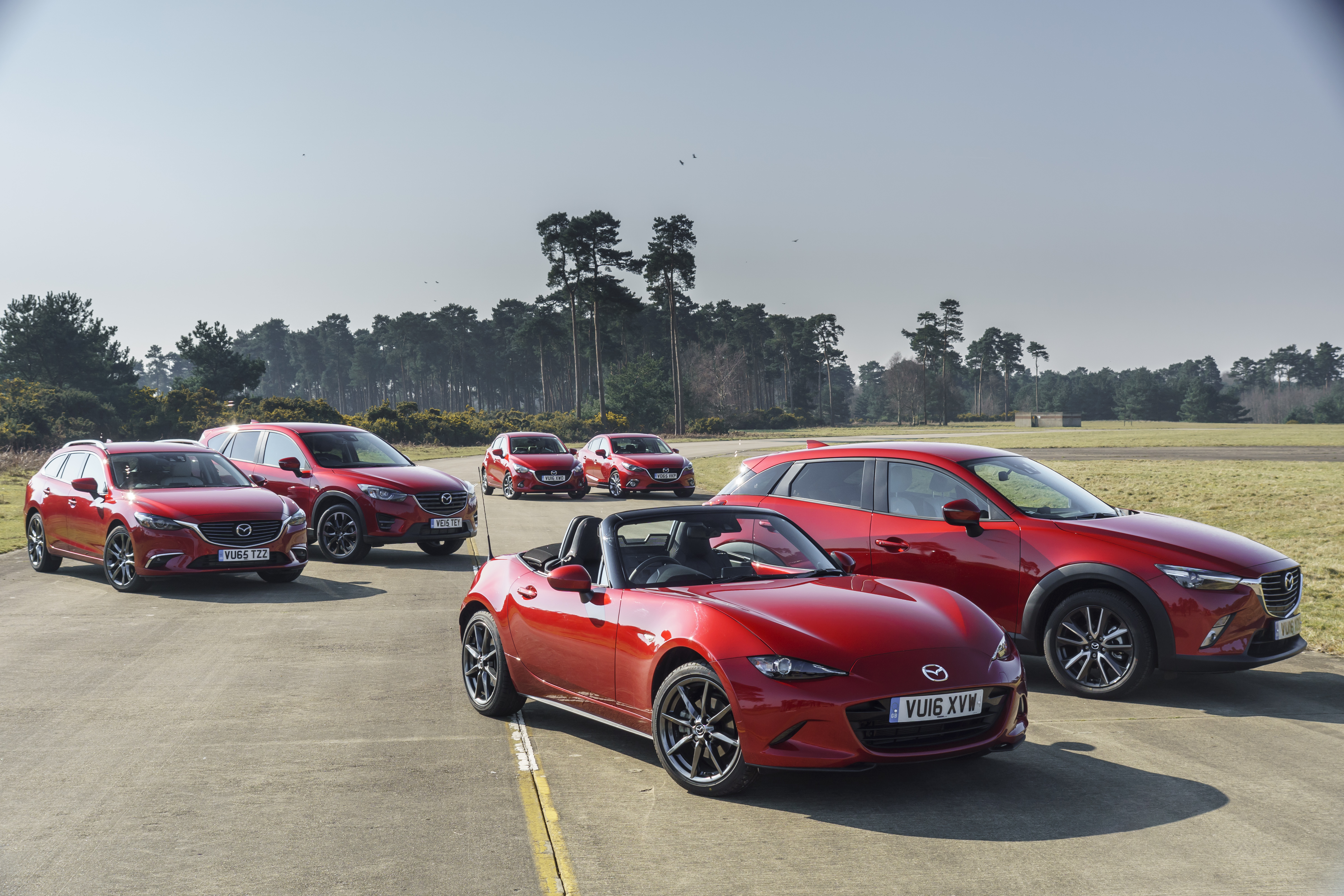 Mazda Leaves No Stone Unturned In Its Efforts To Create Cars That Inspire  Their Drivers. One Of The Ways It Does This Is With What It Calls The Gram  ...