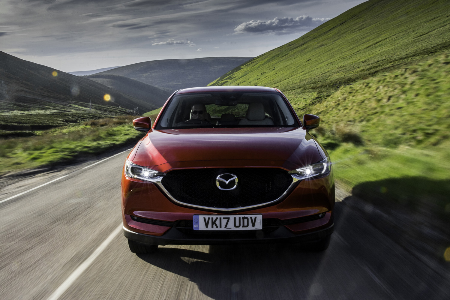 The all-new Mazda CX-5 awarded five-star Euro NCAP rating | Inside